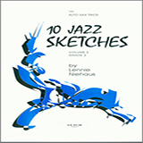 10 Jazz Sketches, Volume 2 (altos) Partitions