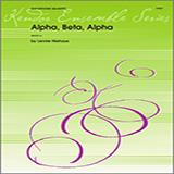 Alpha, Beta, Alpha - Woodwind Ensemble - Saxophones