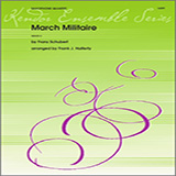 Marche Militaire for Woodwind Ensemble - Saxophones