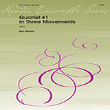 Quartet #1 In Three Movements - Woodwind Ensemble Bladmuziek