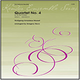 Quartet No. 4 (K. 157, Mvt. 3 Presto) (arr. Gregory Sisco) - Woodwind Ensemble