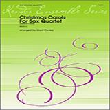 Conley Christmas Carols For Sax Quartet/Conductor's Score cover art