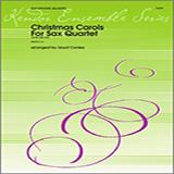 Conley Christmas Carols For Sax Quartet - 1st Alto Sax cover art