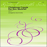Conley Christmas Carols For Sax Quartet - 1st Alto Sax cover kunst