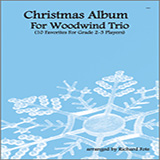 Fote Christmas Album For Woodwind Trio l'art de couverture