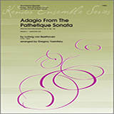Adagio From The Pathetique Sonata (Themes From Movement II, No. 8, Op. 13) for Woodwind Ensemble