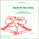Carol of the Bells for Woodwind Ensemble - Mixed Instruments Noter