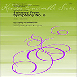 Bourgault Scherzo From Symphony No. 6 - Horn cover art