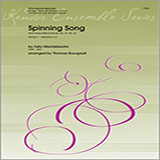 Spinning Song (from Song Without Words, Op. 67, No. 4) for Woodwind Ensemble