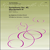 Symphony No. 40, Movement III (Menuetto And Trio) - Woodwind Ensemble