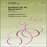 Symphony No. 40, Movement IV (Allegro Assai) - Woodwind Ensemble