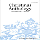 Frank J. Halferty Christmas Anthology (24 Duets For Grade 3-4 Musicians) cover art