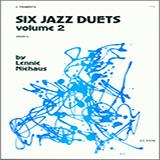 Niehaus Six Jazz Duets, Volume 2 cover art