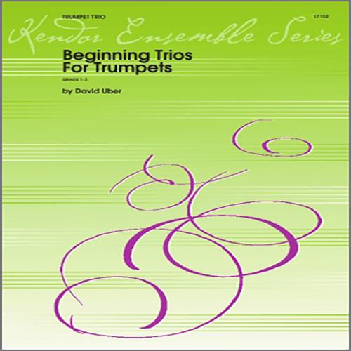 Beginning Trios For Trumpets - 1st Bb Trumpet