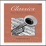 Classics For Trumpet Quartet Partiture