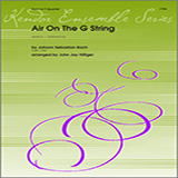 Hilfiger Air On The G String (from Orchestral Suite No. 3) - Full Score l'art de couverture