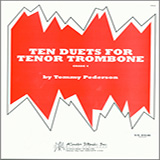 Pederson Ten Duets For Tenor Trombone cover art