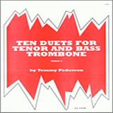 Pederson Ten Duets For Tenor And Bass Trombone cover art