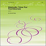 David Uber Melodic Trios For Trombones cover art