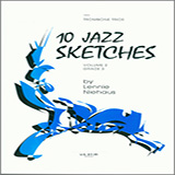 10 Jazz Sketches, Volume 2 Noter