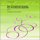 Ten Christmas Carols For Trombone Quintet - 4th Trombone Partitions
