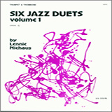 Niehaus Six Jazz Duets, Volume 1 cover art