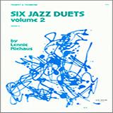 Lennie Niehaus Six Jazz Duets, Volume 2 arte de la cubierta