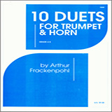 Arthur Frackenpohl 10 Duets For Trumpet And Horn cover art