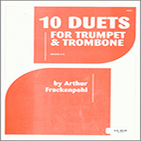 10 Duets For Trumpet And Trombone Partitions