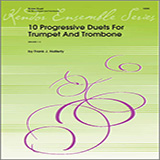 10 Progressive Duets For Trumpet And Trombone Digitale Noter