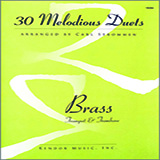 30 Melodious Duets (Trumpet & Trombone) Sheet Music