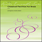 Various Classical Flextrios For Brass (arr. Andrew Balent) cover art