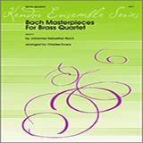 Bach Masterpieces For Brass Quartet - Brass Ensemble