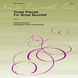 Three Pieces for Brass Quartet - Brass Ensemble