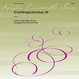 Contrapunctus IX (arr. Richard Fote) - Brass Ensemble Partitions