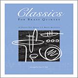 Classics For Brass Quintet - Brass Quintet Sheet Music