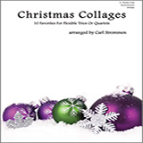 Christmas Collages - C Bass Clef Instruments Noter