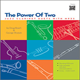 Doug Beach The Power Of Two - Clarinet cover kunst
