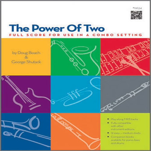 Doug Beach & George Shutack The Power Of Two - Full Score cover art