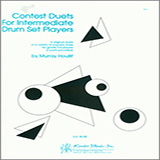 Houllif Contest Duets For Intermediate Drum Set Players cover art