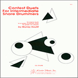 Murray Houllif Contest Duets For The Intermediate Snare Drummers cover art