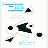 Murray Houllif Contest Duets For Young Snare Drummers cover art