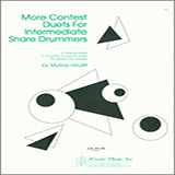 Murray Houllif More Contest Duets For Intermediate Snare Drummers cover art
