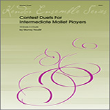 Houllif Contest Duets For Intermediate Mallet Players cover art