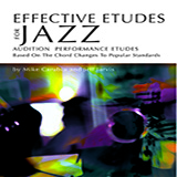 Mike Carubia & Jeff Jarvis Effective Etudes For Jazz - Bb Trumpet cover art