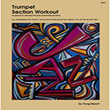 Doug Beach Trumpet Section Workout with MP3's (6 pieces to develop the jazz ensemble section) cover art