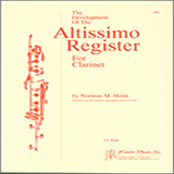 The Development Of The Altissimo Register For Clarinet Noten