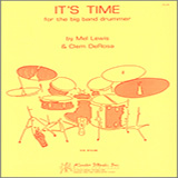 Mel Lewis It's Time For The Big Band Drummer cover art