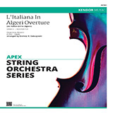 Gioachino Rossini - L'italiana In Algeri Overture (an Italian Girl In Algiers) (arr. Andrew Dabczynski) - Full Score