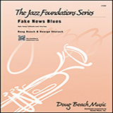 Fake News Blues - Jazz Ensemble Sheet Music